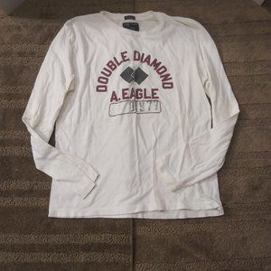 American Eagle  Long Sleeve Double Diamond Shirt
